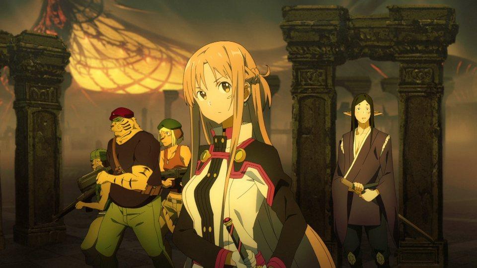 Sword Art Online, la película: Ordinal Scale, fotograma 10 de 12