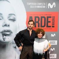 Paco León y Anna R. Costa en la premiere de 'Arde Madrid'