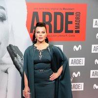 Debi Mazar en la premiere de 'Arde Madrid'
