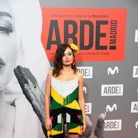 Anna Castillo en la premiere de 'Arde Madrid'