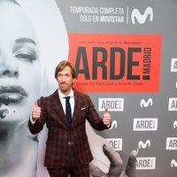 Ken Appledorn en la premiere de 'Arde Madrid'