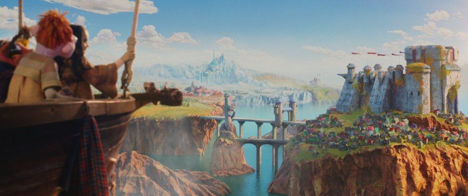 La gran aventura de los Lunnis y el libro mágico, fotograma 6 de 8