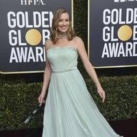 Yvonne Strahovski at the Golden Globes 2019 red carpet