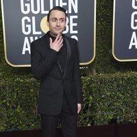 Kieran Culkin en la alfombra roja de los Globos de Oro 2019