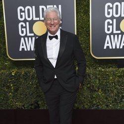 Richard Gere en la alfombra roja de los Globos de Oro 2019