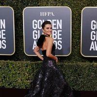 Penélope Cruz en la alfombra roja de los Globos de Oro 2019