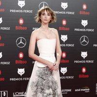 Ingrid García Jonsson en la alfombra roja de los Premios Feroz 2019