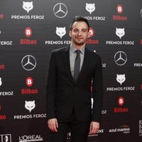 Alejandro Amenábar en la alfombra roja de los Premios Feroz 2019