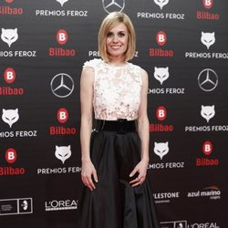 Alexandra Jiménez en la alfombra roja de los Premios Feroz 2019