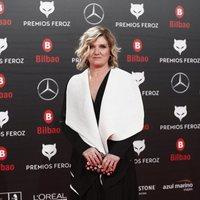 Ana Wagener en la alfombra roja de los Premios Feroz 2019