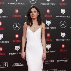 Anna Castillo en la alfombra roja de los Premios Feroz 2019