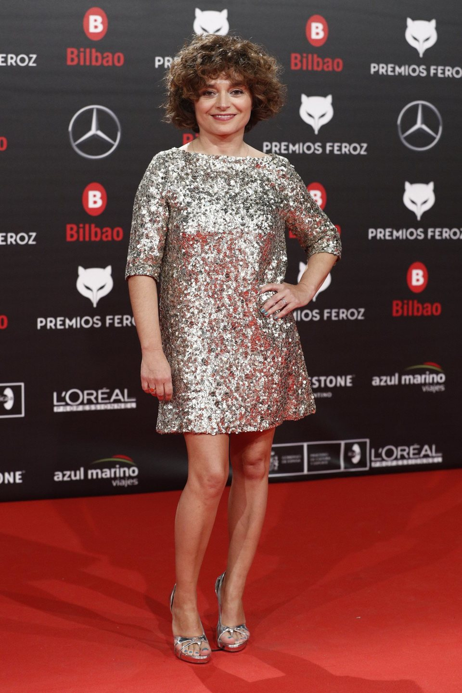 Anna R. Costa en la alfombra roja de los Premios Feroz 2019