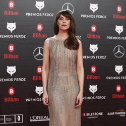 Belén Cuesta en la alfombra roja de los Premios Feroz 2019