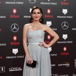 Belén López en la alfombra roja de los Premios Feroz 2019