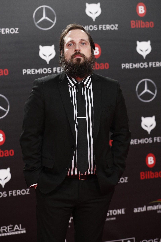 Carlos Vermut en la alfombra roja de los Premios Feroz 2019