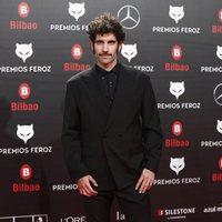 Tamar Novas en la alfombra roja de los Premios Feroz 2019