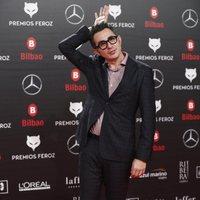 Berto Romero en la alfombra roja de los Premios Feroz 2019