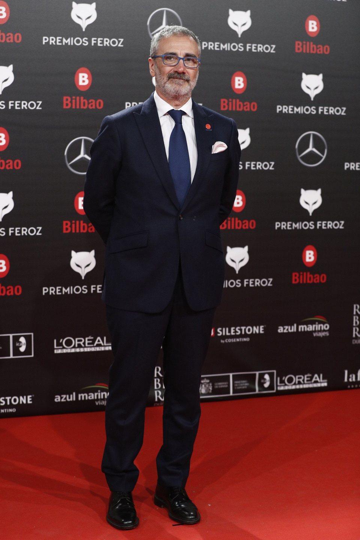 Javier Fesser en la alfombra roja de los Premios Feroz 2019