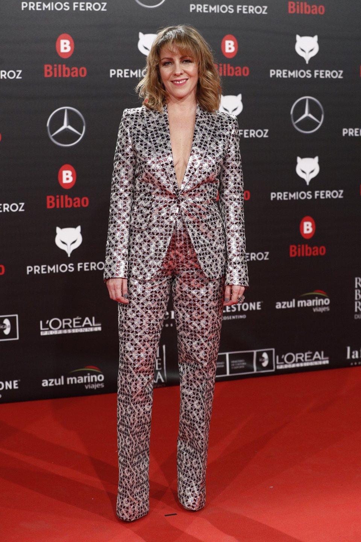 Eva Llorach en la alfombra roja de los Premios Feroz 2019