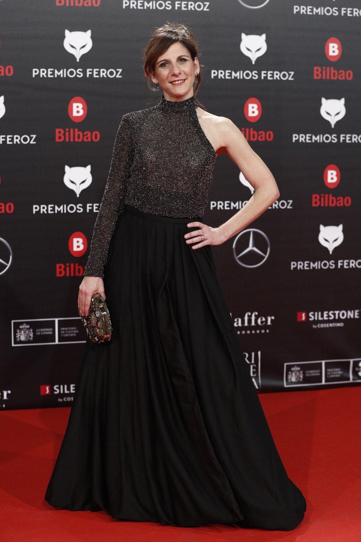 Malena Alterio en la alfombra roja de los Premios Feroz 2019
