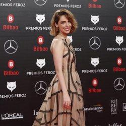 Leticia Dolera en la alfombra roja de los Premios Feroz 2019