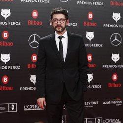 Manolo Solo en la alfombra roja de los Premios Feroz 2019
