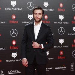 Pol Monen en la alfombra roja de los Premios Feroz 2019