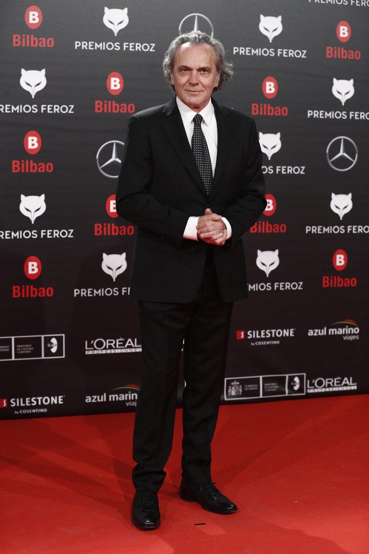 José Coronado en la alfombra roja de los Premios Feroz 2019