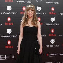 Nathalie Seseña en la alfombra roja de los Premios Feroz 2019