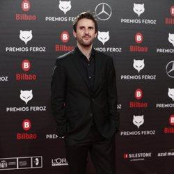 Julián López en la alfombra roja de los Premios Feroz 2019
