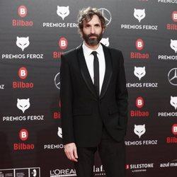 Julián Villagrán en la alfombra roja de los Premios Feroz 2019