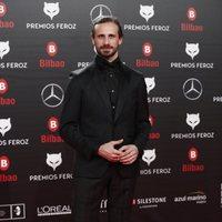 Oriol Pla en la alfombra roja de los Premios Feroz 2019