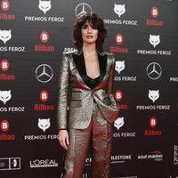 Paz Vega en la alfombra roja de los Premios Feroz 2019
