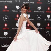 Eva Ugarte  en la alfombra roja de los Premios Feroz 2019