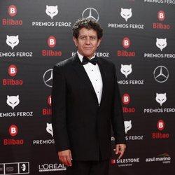 Pedro Casablanc en la alfombra roja de los Premios Feroz 2019