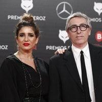 Lucía Jiménez y David Trueba en la alfombra roja de los Premios Feroz 2019