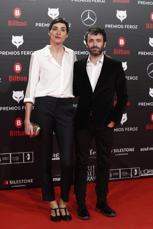 Rodrigo Sorogoyen e Isabel Pen?a en la alfombra roja de los Premios Feroz 2019