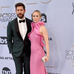 John Krasinski y Emily Blunt en los premios SAG 2019