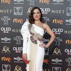 Eva Marciel en los Premios Goya 2019