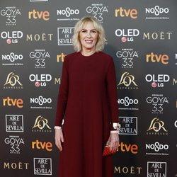 Susi Sánchez en los Premios Goya 2019
