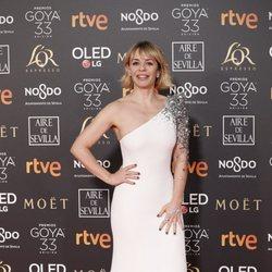 María Adánez en los Premios Goya 2019