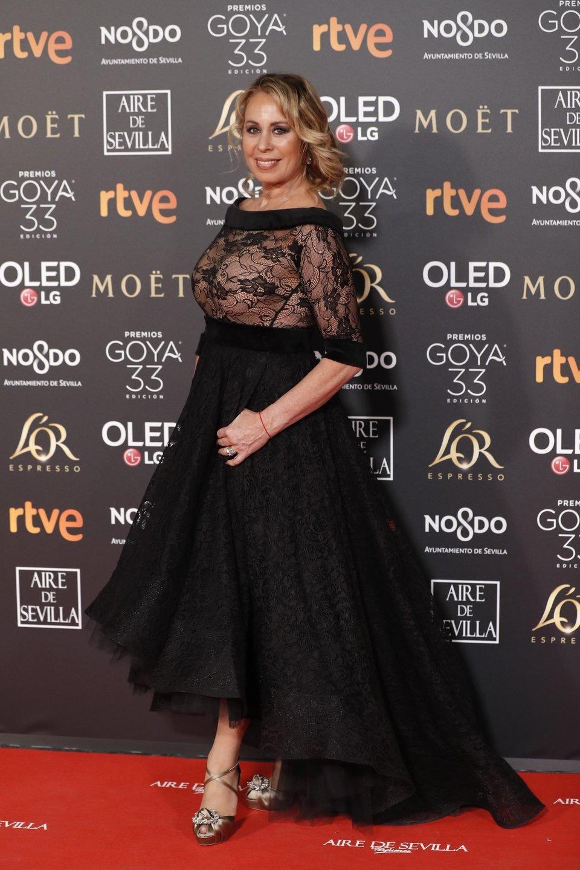 Miriam Díaz Aroca en los Premios Goya 2019