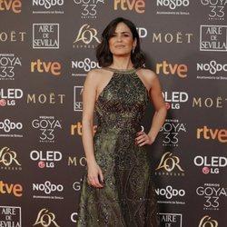 Elena Sánchez en los Premios Goya 2019