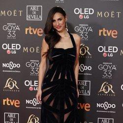 Cristina Brondo en los Premios Goya 2019