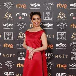 Blanca Marsillach en los Premios Goya 2019