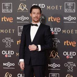 Jan Cornet en los Premios Goya 2019