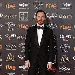 Rubén Ochandiano en los Premios Goya 2019