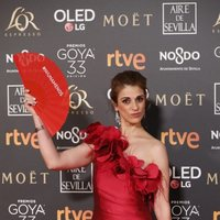 Ruth Gabriel en los Premios Goya 2019