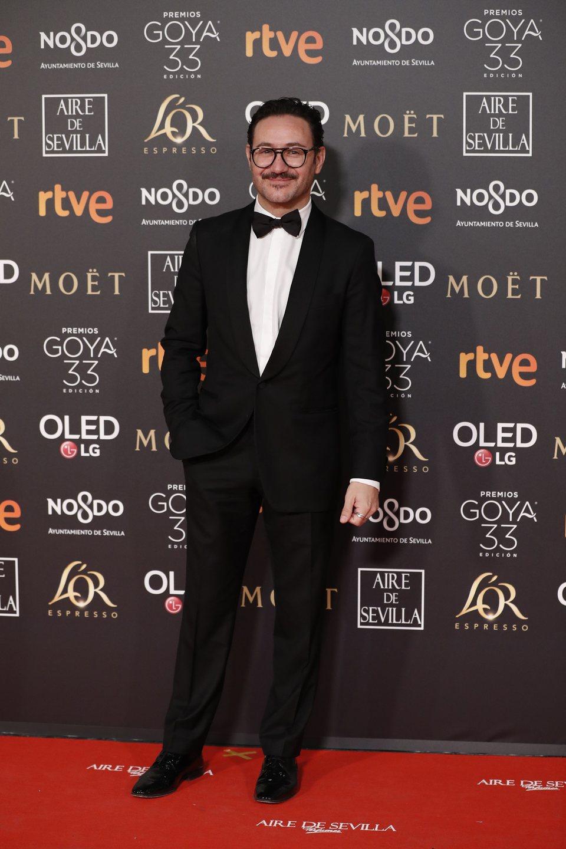 Carlos Santos en los Premios Goya 2019