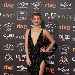 Aura Garrido en los Premios Goya 2019